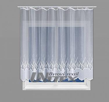 Žakarová záclona výška 160cm 9f71509d688