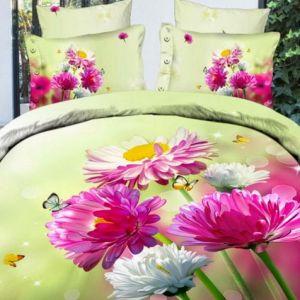 3D obliečky a top kvetinové motívy 3D obliečok